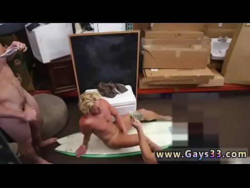 Naked young blonde man