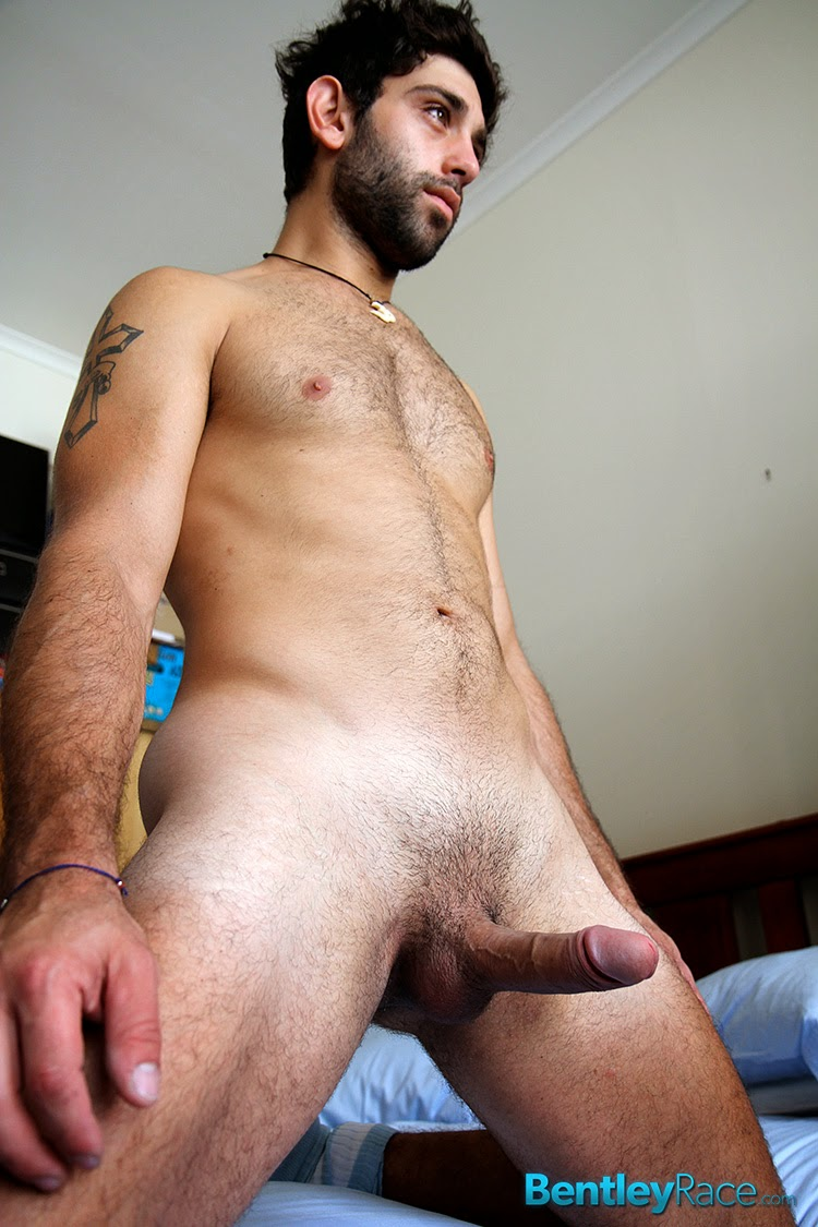 Hot naked middle eastern man