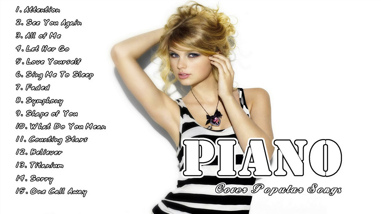 Acoustic piano covers of popular songs