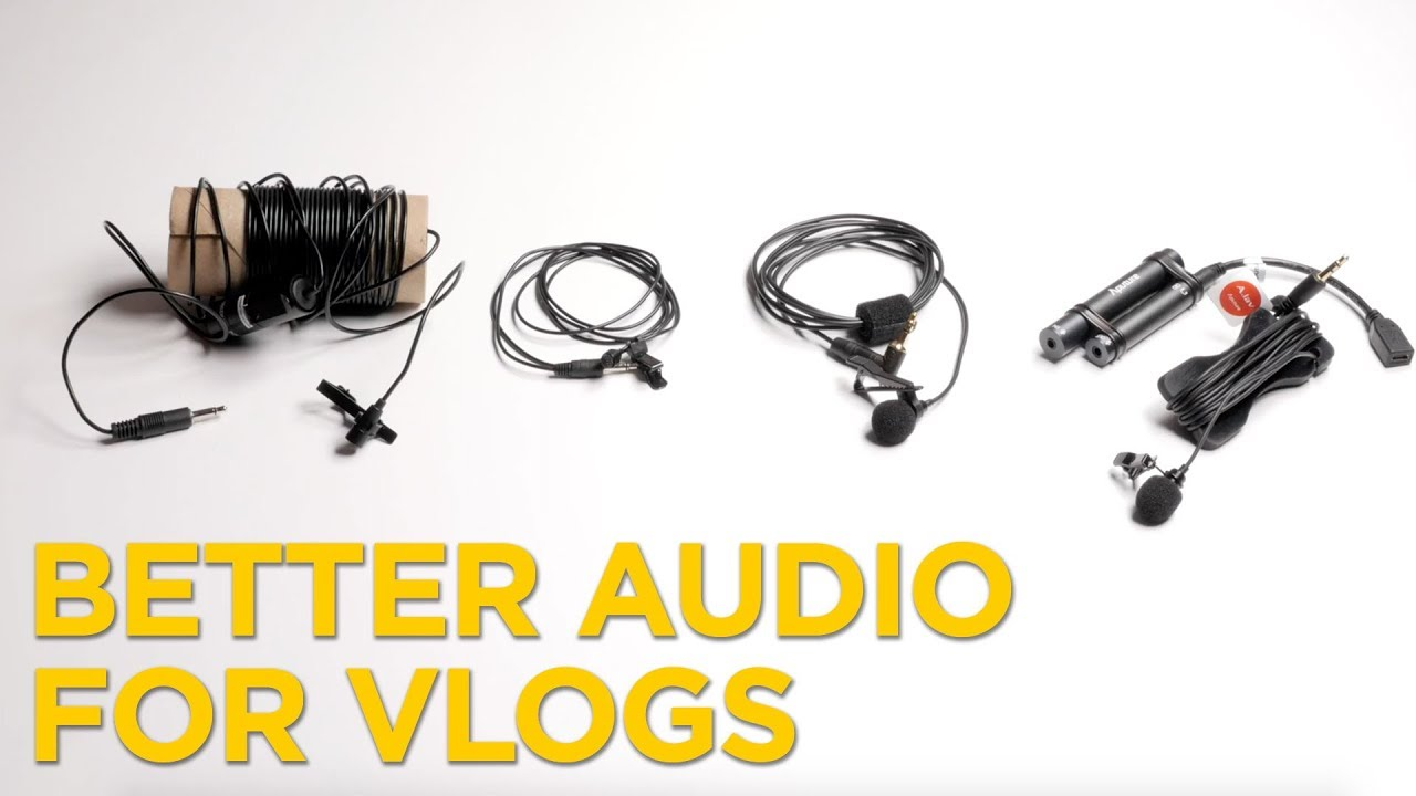 Audio for vlogs