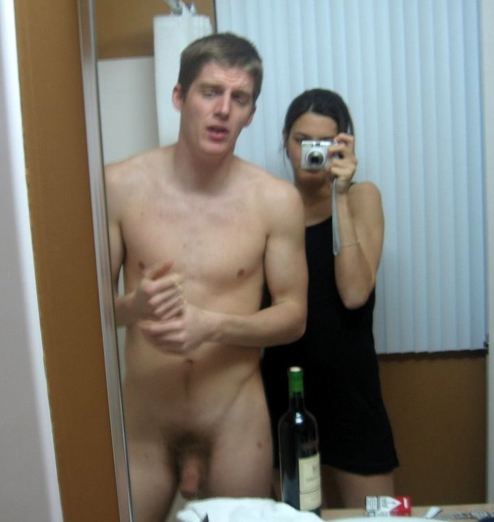 Embarrassing naked man pic
