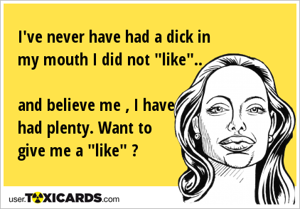 Dick in my mouth