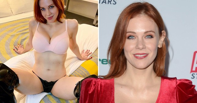 Hollywood actress adult video