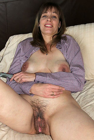 Hairy matures nude