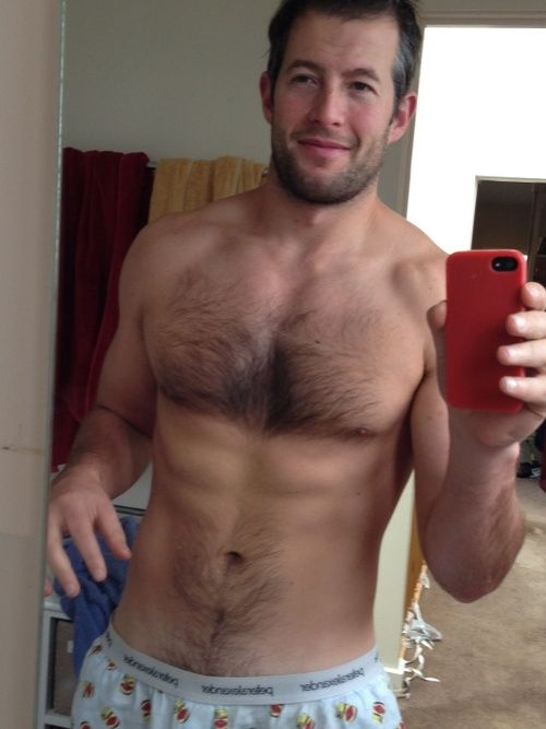 Hairy sexy cell phone