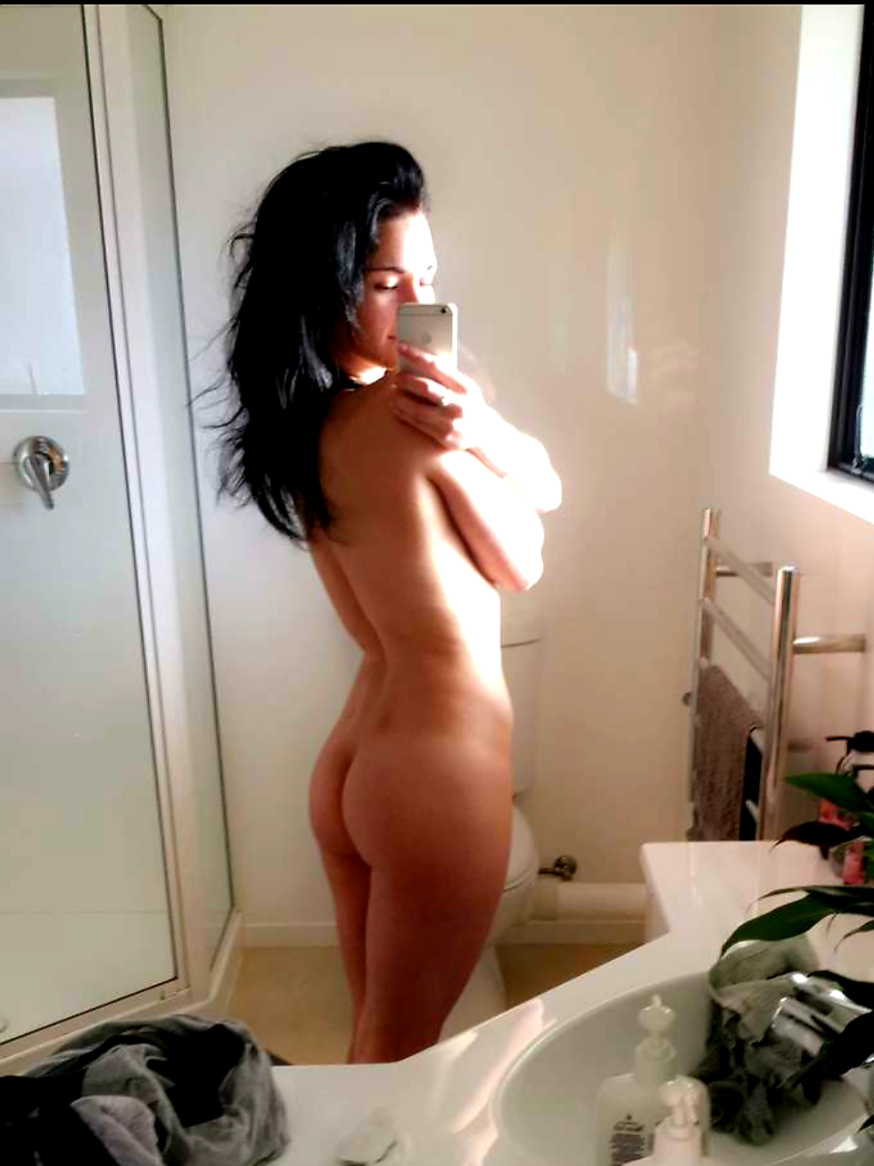 Hot mirror pic topless milf