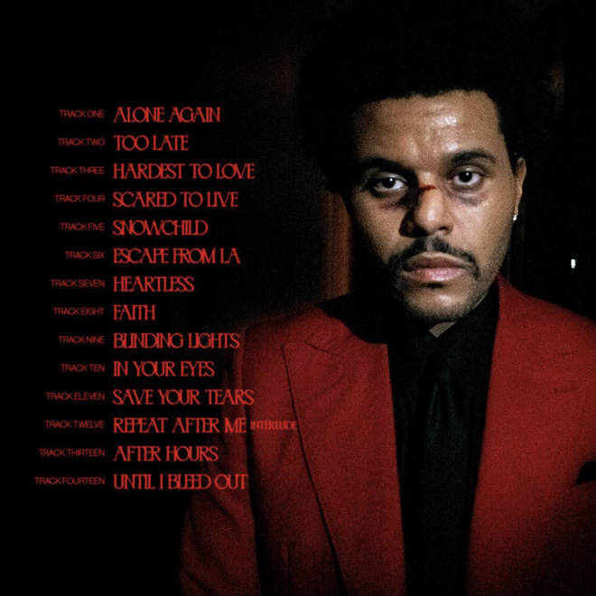 The weeknd as you are song
